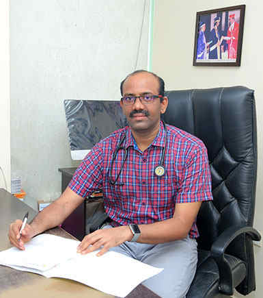 Dr. Sateesh J - Sateesh Gastro - Liver Centre in Vijayawada