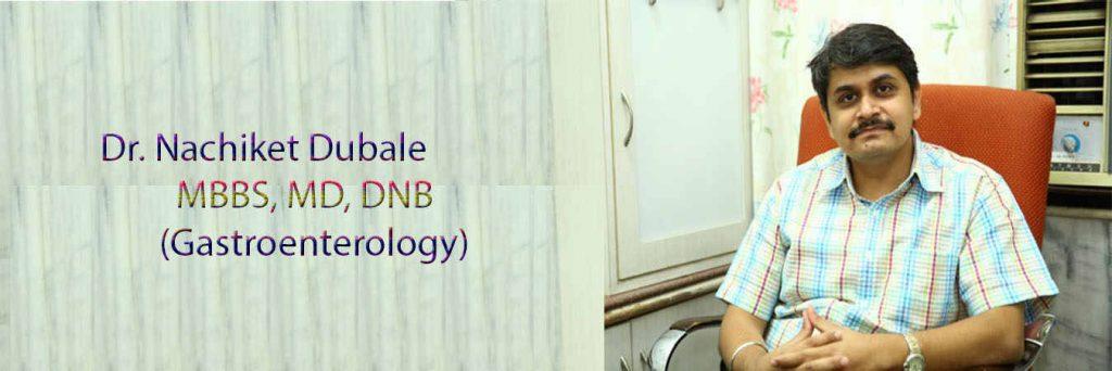 Dr. Nachiket Dubale - Gastroenterologist in Pune